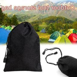 Storage Bag Drawstring Nylon Waterproof Dustproof Pouch For