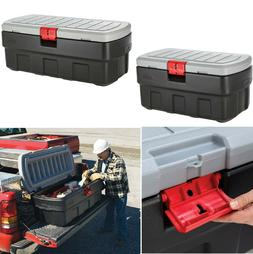 Storage Box for Car Supplies and Garden Tools 35 or 48 Gal L