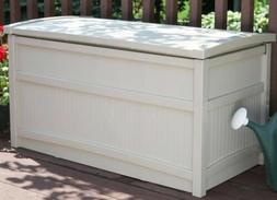 Storage Deck Box Outdoor Container Bin Chest Patio Suncast 5