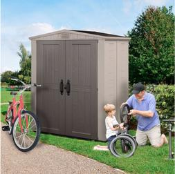 Outdoor Storage Shed Factor 6 ft. x 3 ft., Lockable, Sturdy