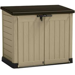 Keter Store It Out MAX Outdoor Resin Horizontal Storage Shed