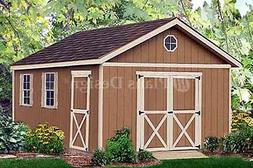 Outdoor Structure 20 ft x 12 ft Yard Storage Building / Gabl