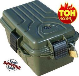 MTM Survivor Plastic Dry Box with Built In Compass and Signa