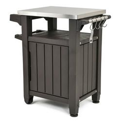 Keter Unity Indoor Outdoor BBQ Entertainment Storage Table /