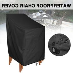 Waterproof Chair Cover High Back Outdoor Patio Garden Furnit