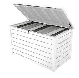Keter XXL 230 Gallon Plastic Deck Storage Container Box Outd